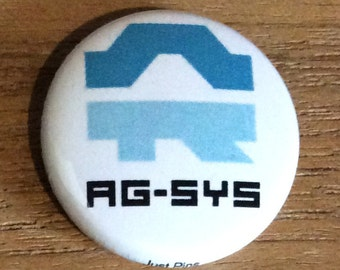 """1"""" Button - AG Systems"""