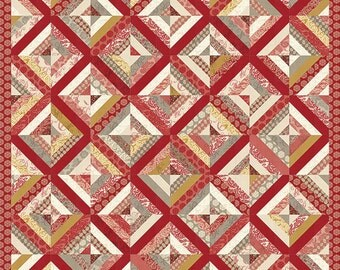 Madame Rouge - Madame Rouge Quilt Pattern by French General