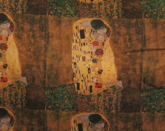 The Kiss by Gustav Klimt Pillow