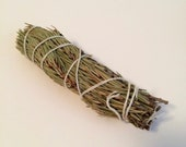 Pine Smudge Stick (Pinus virginiana) - Hand tied organic smudge stick for purification, healing, protection and exorcism