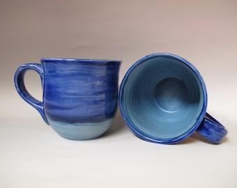 Blue 16-ounce mug