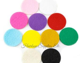 Self-Adhesive Felt Circles 1-1/2 inch Sticky - Felt Backing, Craft Felt, Flower Back, Craft Felt Circles, Headband Felt