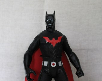 One of A Kind 12 inch High End Batman Beyond action figure. Very Rare, Sculpted by Rocco Tartamella