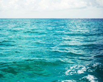 Colors of the Sea - Fine Art Photograph, Islamorada, Ocean, Atlantic, Vacation, Travel Photography