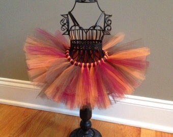 Fall Thanksgiving Tutu Ready to Ship Size 0-6 Months
