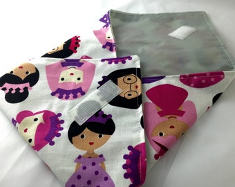 Reusable Sandwich Bag Wrap - Princess Pink - Ready To Ship