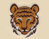 Tiger Tea Towel | Embroidered Towel | Personalized Kitchen Towel | Embroidered Tea Towel | Embroidered Kitchen Towel | Hand Towel