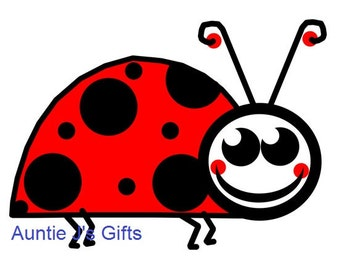 """CROCHET GRAPH PATTERN, lady bug for afghan, 50""""x35"""""""