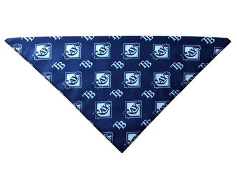 Tampa Bay Rays Dog Bandana