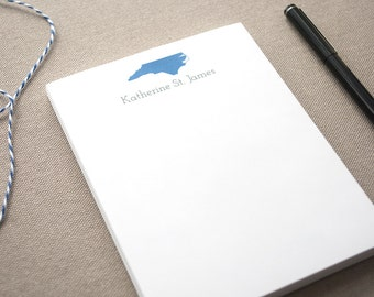 Personalized Name Notepad with State/ Small Notepad with Name / Personal Memo Pad / Custom Notepad