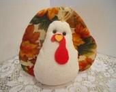 FALL/ Thanksgiving, Turkey, Timmy Turkey, Soft Doll