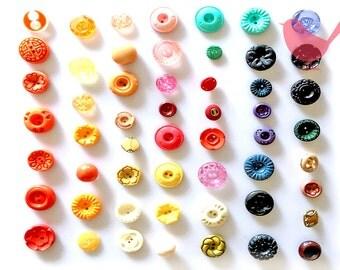 Vintage Button 10 - over 50 pieces