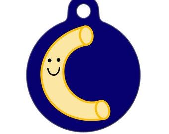 Pet ID Tag - Macaroni Pet Tag, Dog Tag, Cat Tag, Bag Tag, Child ID Tag