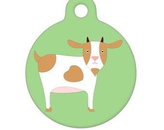 Pet ID Tag - Goat Pet Tag, Dog Tag, Cat Tag