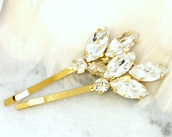Bridal Hair Pin,Bridal Swarovski Bobby Pin,Bridal Crystal Bobby Pin,Wedding Hair Jewelry,Crystal Bridal Hair Jewelry,Bridal Crystal Hair Pin
