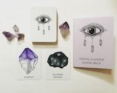 VISIONS: a crystal oracle deck