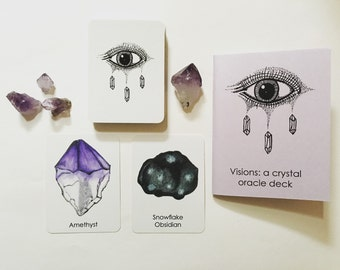 VISIONS: a crystal oracle deck