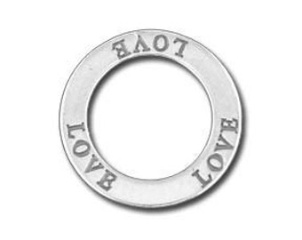 Love Affirmation Ring - Sterling Silver