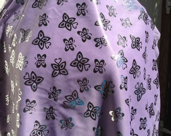 Butterfly fabric fancy dress up shiny 3 colors shear costumes theater plays