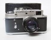 Vintage russian Photo Camera Smena 1, GOMZ. Made in Soviet Union 1953-1960