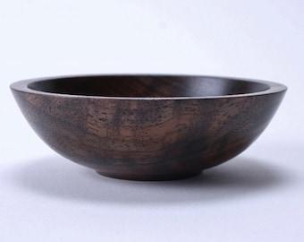 Claro Walnut Wooden Bowl #1504