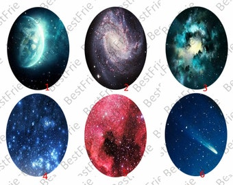 4 pcs 10x14mm,13x18mm,18x25mm,20x30mm,30x40mm,starry sky Oval Glass Cabochons,jewelry Cabochons finding beads,Photo Glass Cabochons,cabochon