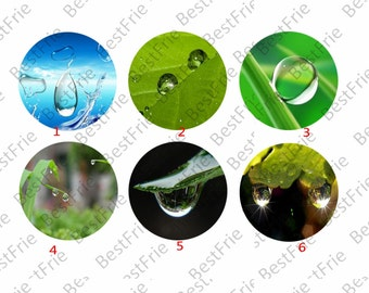 4 pcs 10mm,12mm,14mm,16mm,18mm,20mm,25mm,drop of water Round photo Glass Cabochons,jewelry Cabochons finding beads,Photo Glass Cabochons