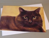 Jess the Cat art card by ...