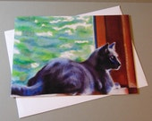 Ready to Pounce art card ...