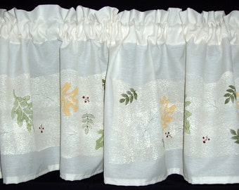 My Falling Leaves Valance