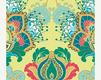 SALE - Artisan Emerald  (RHA-500) - RHAPSODIA by Pat Bravo for Art Gallery Fabrics - By the Yard