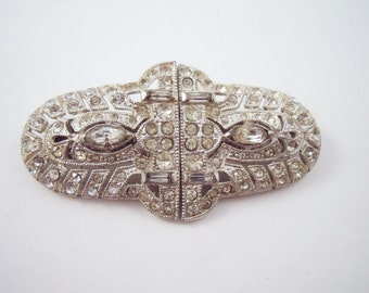 Vintage Coro Duette brooch  with two dress clips
