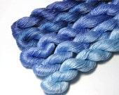GRADATION Set of Pure Silk MERIDIAN  in Dusk - One of a Kind