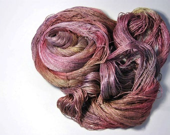 Pure Silk  MERIDIAN  in Autumn in the Air - One of a Kind