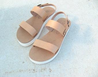 HALF PRICE !Bohemian wedge sandals! size 39