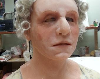 George washington silicone mask