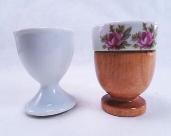 Egg Cups Mini Succulent Planters Vintage 60s