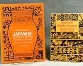 On Hold!   JAPANESE DESIGNS, Lot of 2 First Edition Soft Cover Books, 1975 & 1983
