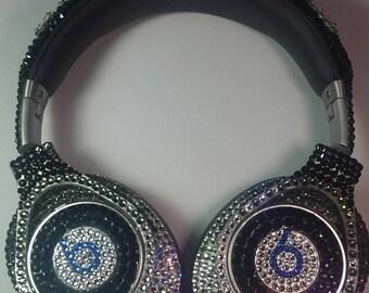 Custom Executive Beats Headphones, Bling Headphones,Headphones, Swarovski Headphones, Custom Name Headphones, Custom Headphones,Beats by Dre