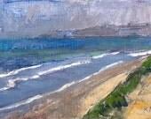 Del Mar Beach Landscape Painting