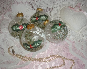Christmas Hand Painted Ornaments