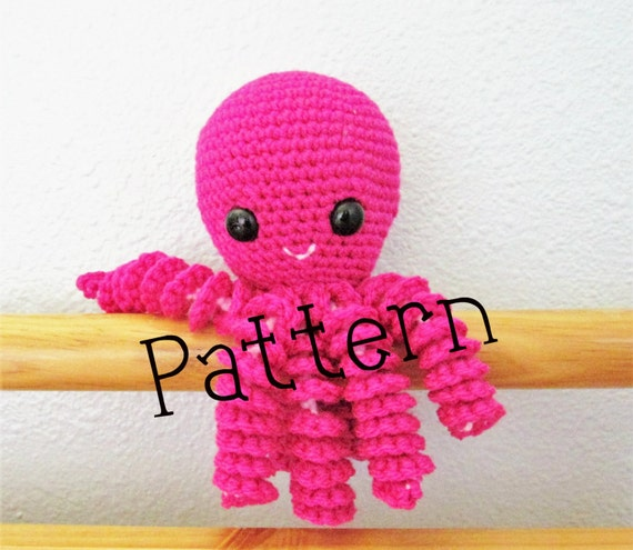 Crochet Octopus Pattern Octopus Infant Octopus Toy Pattern