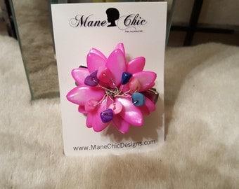 Little Girl's Flower Natural Hair Clip