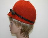 1960s Fall Vintage hat / bubble toque,Neumann Endler, Valerie Modes