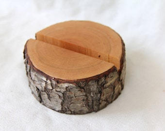 cherry- ONE tree branch business card holder