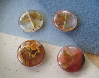 4-25mm Round Carnelian Beads