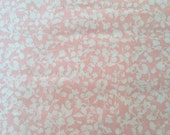 Liberty in coral, Woodland clearing Collection by leisel Gibson for Robert Kaufman fabrics 1/2 yd lawn