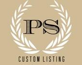 Custom Order: Dominique