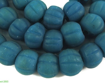Blue Melon Beads Indonesia 100491
