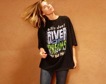 BILLY joel 90s VINTAGE tour shirt